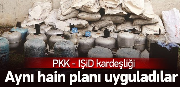 PKK'nın alçak bomba taktiği IŞİD'ten