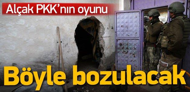 PKK'nın oyununa kameralı önlem