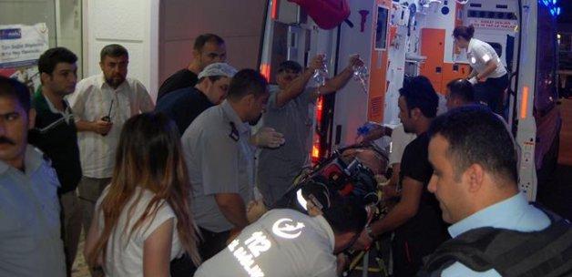 Polis merkezine ses bombalı saldırı