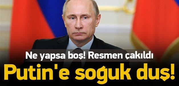 Putin'e soğuk duş! Resmen çakıldı