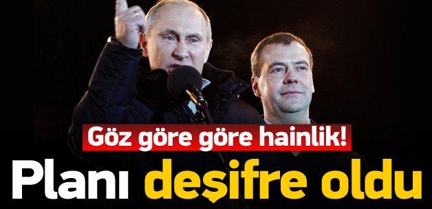 Putin'in hain planı deşifre oldu