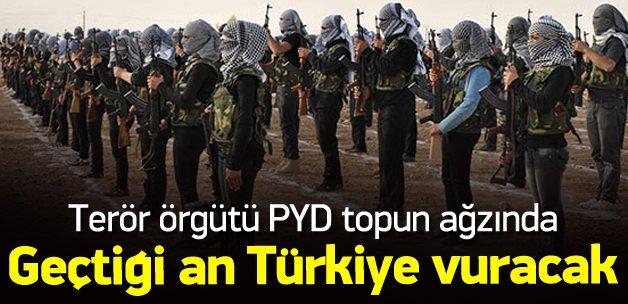 PYD Münbiç'e geçerse Türkiye vuracak