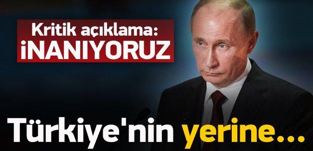 Rusya'dan çok kritik 'Türkiye' açıklaması