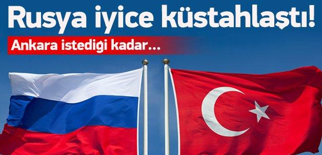 Rusya'dan Türkiye'ye cevap