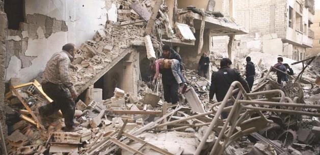 Rusya Suriye'de kuran kursu vurdu