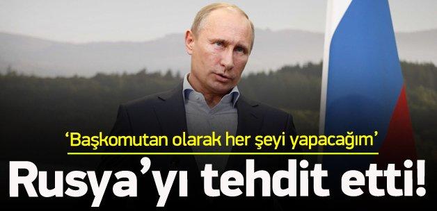 Rusya'ya meydan okudu