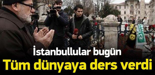 Saldırıda ölenler için vatnadaşlardan dua