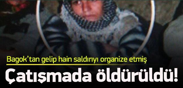 Saldırıyı organize eden PKK'lı öldürüldü