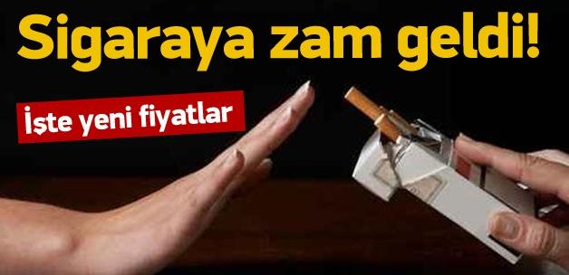 Sigaraya zam geldi: İşte yeni fiyatlar