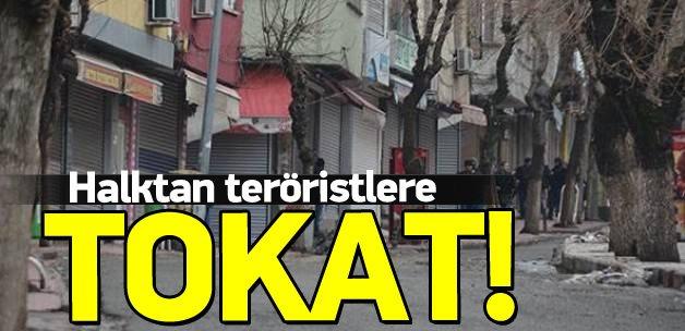 Siirt halkı teröristlere kapılarını açmadı