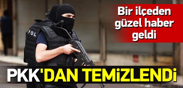 Silopi PKK'dan tamamen temizlendi