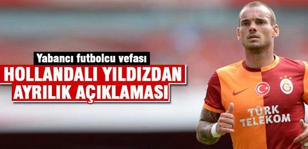 Sneijder'den Galatasaray'a darbe
