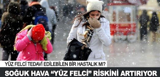 """Soğuk hava """"yüz felci"""" riskini artırıyor"""