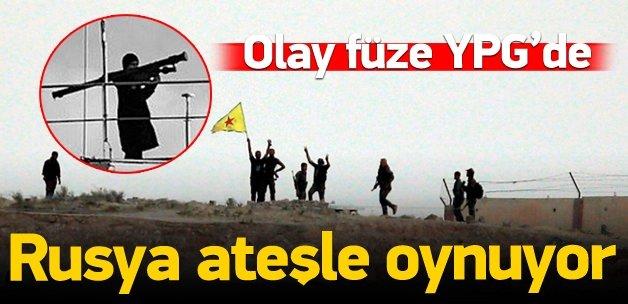 Strela füzesiyle PYD'ye eğitim!