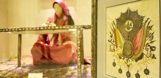 Sultan 2. Mahmud'un tuğrası Etnoğrafya Müzesinde