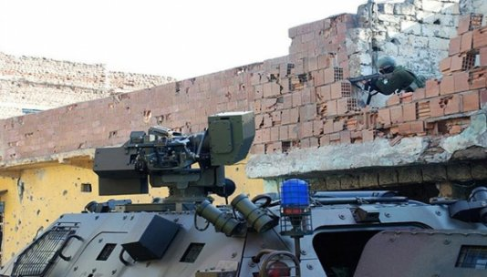 Sur'da bir özel harekat polisi şehit oldu