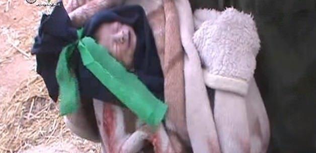 Suriye'de minik Muhammed açlıktan öldü