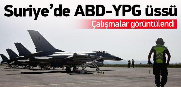 Suriye'de ABD-YPG üssü