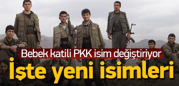 Terör örgütü PKK isim değiştiriyor! İşte yeni ismi
