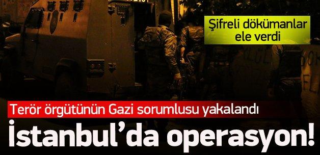 Terör örgütünün Gazi Mahallesi sorumlusu yakalandı