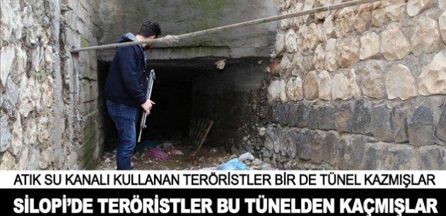 Teröristlerin kazdığı 40 metrelik tünel ortaya çıkarıldı