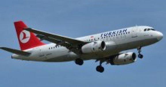 THY uçağı kalkışta kuşa çarptı
