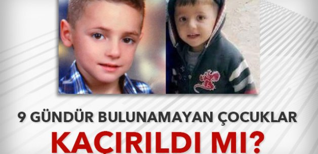 Tokat'ta kaybolan iki çocuk kaçırıldı mı