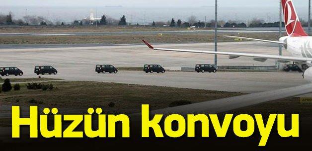 Turistlerin cenazesi ülkelerine gönderildi