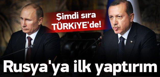 Türkiye'den Rusya'ya ilk yaptırım