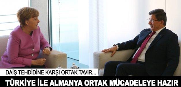 'Türkiye ile Almanya DAİŞ'e karşı ortak mücadeleye hazır'