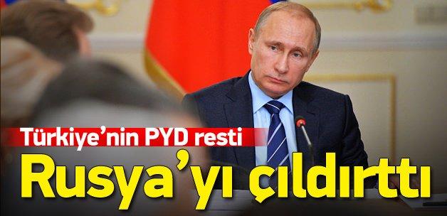 Türkiye'nin resti Rusya'yı rahatsız etti