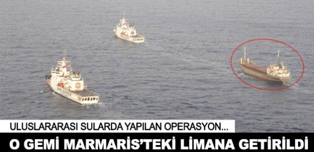 Türkiye'nin uluslararası sulardaki uyuşturucu operasyonu