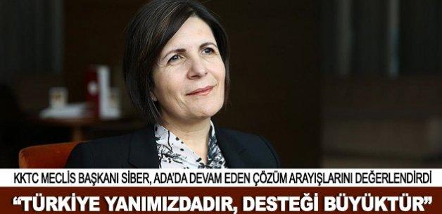 """""""Türkiye yanımızdadır, desteği büyüktür"""""""