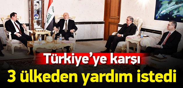 Türkiye'ye karşı 3 ülkeden yardım istedi