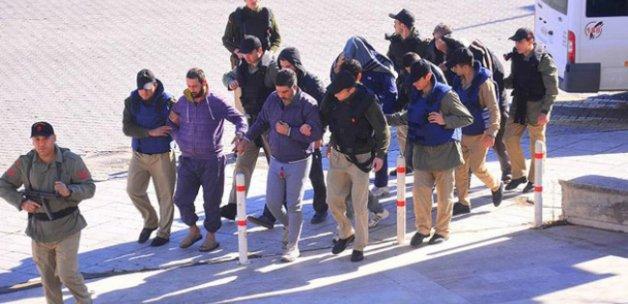 Uluslararası sulardaki uyuşturucu operasyonunda 9 tutuklama