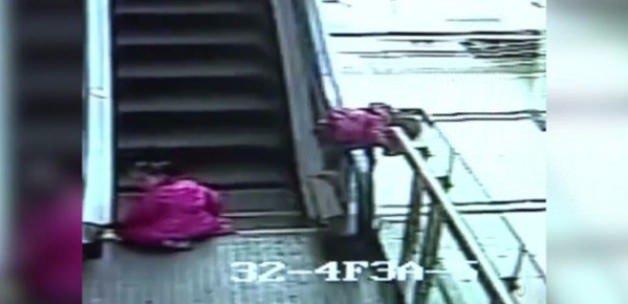 Yine yürüyen merdiven faciası: Korkunç son!