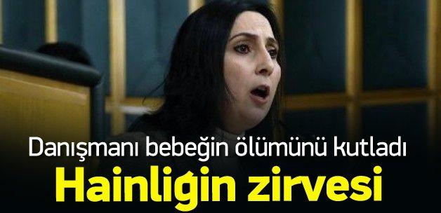 Yüksekdağ'ın danışmanı PKK saldırısını kutladı