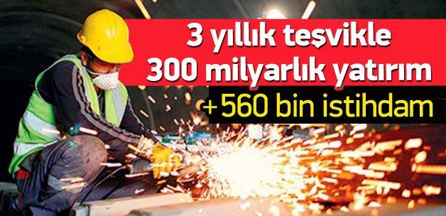 295 milyarlık yatırım 15 bin istihdam