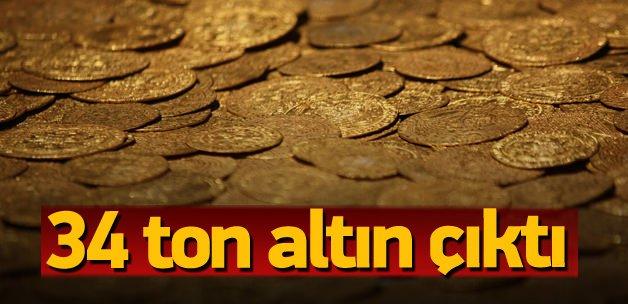 34,2 ton altın ekonomiye kazandırıldı