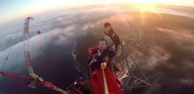 3. köprü selfiecilerinin yeni tırmanışı korkuttu
