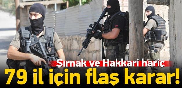 79 kentte 'özel güvenlik' alarmı!