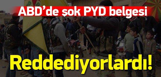 """ABD belgesine göre PYD, PKK'nın """"Suriye kolu"""""""