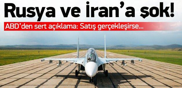 ABD'den Rusya ve İran'a büyük şok!