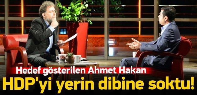 Ahmet Hakan HDP'yi yerin dibine soktu!