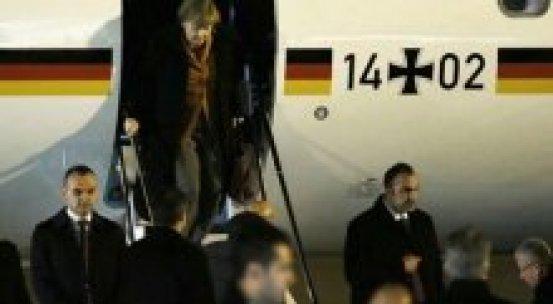 Almanya Başbakanı Merkel Türkiye'de