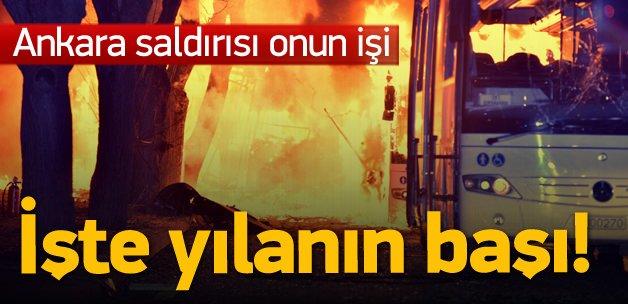 Ankara katliamında yılanın başı; Esed