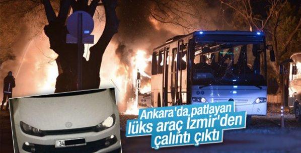 Ankara patlamasında kullanılan araç çalıntı çıktı