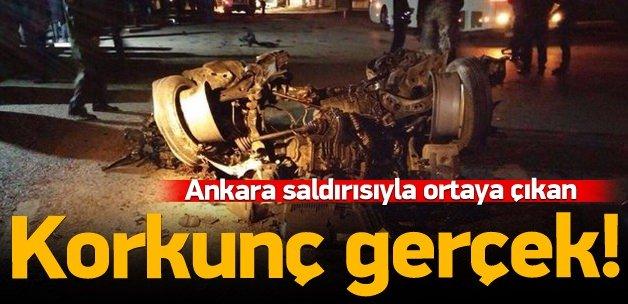 Ankara saldırısıyla ortaya çıkan korkunç gerçek!