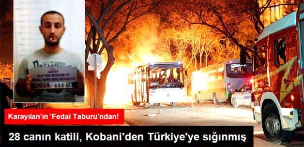 Ankara'yı Kana Bulayan Terörist, Kobani'den Türkiye'ye Sığınmış