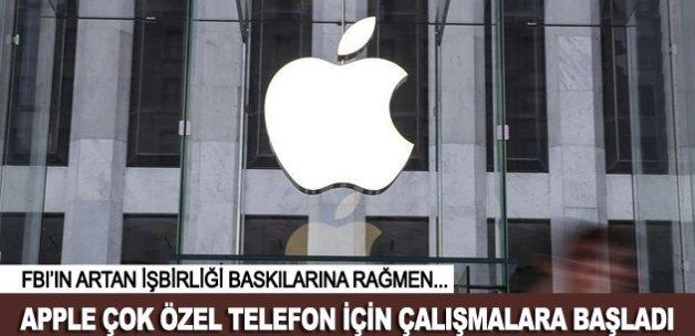 Apple çok özel telefon için çalışmaya başladı